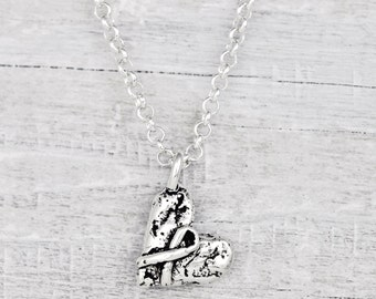 Hope Necklace- Cancer Hope Necklace - Inspirational Necklace - N652