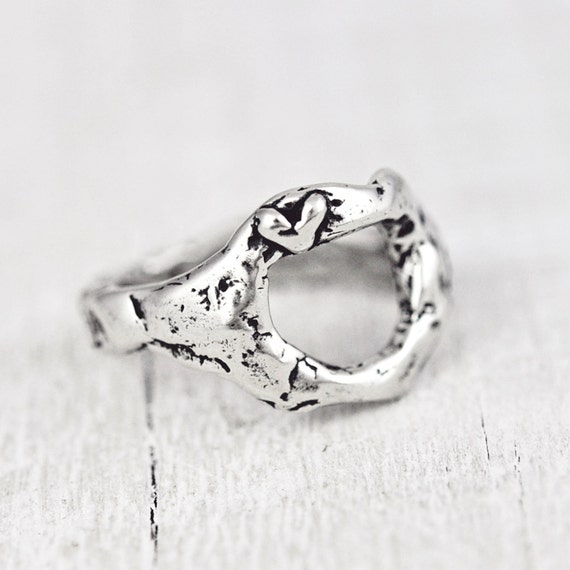 Trust Love Ring - Inspirational Jewelry - Heart Ring - R335