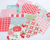 "Destash- Vintage Modern, Bonnie and Camille, Moda Fabrics, Charm Pack, 42 5"" Squares"