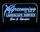 """Custom Business LED Sign - Fully customizable!  18""""x10"""" LED Lights w/remote!  Perfect Gift!"""