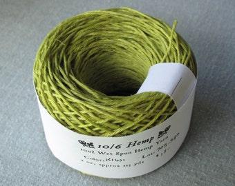 Kiwi 10/6 Hemp Yarn