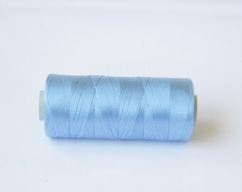 1 spool  Nylon  Cord,200 yards 0.5 mm baby blue cord , Jewelry cord,bracelet cord  ,Necklace cord,high quality nylon beading Cord