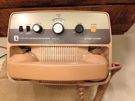 Vintage Cb Radio Telephone Citizen Band Radio Original Car
