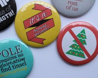Set of 5 Seinfeld Festivus Magnets