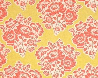 Secret Garden - Fresh Cut Flowers in Poppy - SH5020-POPP - Sandi Henderson - 1/2 Yard