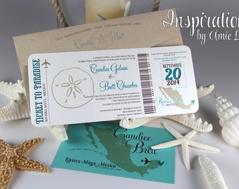 Boarding Pass Wedding Invitations, Boarding Pass, Wedding Invitations, Boarding Ticket
