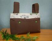 Walker Bag - Brown bag wi...