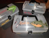 Personalized Tackle Box for Boys and Girls Storage Organizer Gift