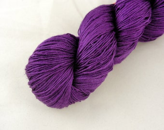 Maharaja Silk Yarn, Lace Weight, Purple