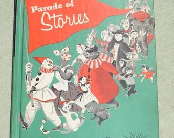 Vintage Book - Parade of Stories - Children - 1964