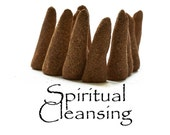 Spiritual Cleansing Blend, Artisan Hand Made Incense Cones