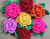 Make it yourself! Pattern for beautiful rose.