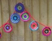 garland of little mandalas- pattern