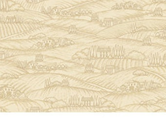 Vineyard Haven by Quilting Treasures - (23481-A) Taupe, Tan, Beige - 1 yard
