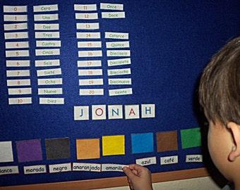 Felt Board - Felt Board Stories - Flannel Board - Educational Toys - Montessori Toddler - Autism - Home School - Teachers - Kids Toys