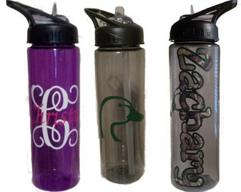 Personalized 24oz water bottles
