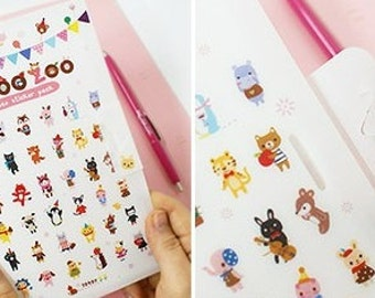 Scrapbook DIY Deco Sticker - Joo Zoo