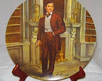"Gone with the Wind Collection ""Rhett"" Commemorative Plate"