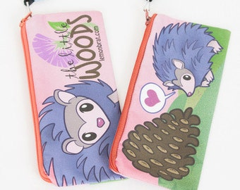 Hedgehog Pencil Bag
