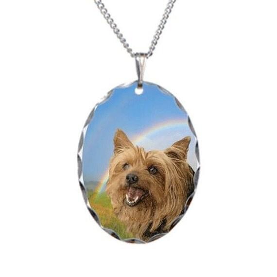 items similar to sale yorkie necklace pet jewelry