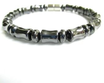 High Power Magnetic Hematite Bracelet