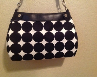 Disco Dot suite purse skirt cover handmade thirty one