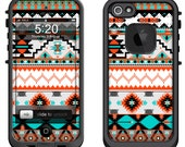 Lifeproof iPhone 6 Fre, LifeProof iPhone 5 5S 5C Fre Nuud, Lifeproof iPhone 4 4S Fre Case Decal Skin Cover - Native Pattern