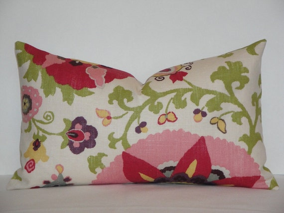 decorative pillow cover 12 x 20 lumbar chair pillow accent pillow