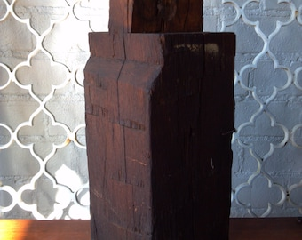 Rough Cut Salvaged Barn Beam Chunk