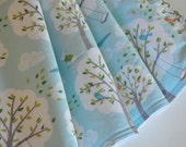 Best Blanket for Babies, Blanket in Backyard Baby, designer fabric, and dimple dot minky in white, gray or aqua