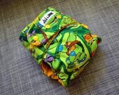TMNT AI2 Ninja Turtles one-size cloth diaper