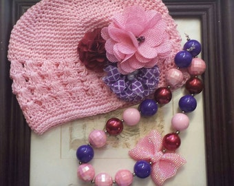 Necklace and Kufy hat set