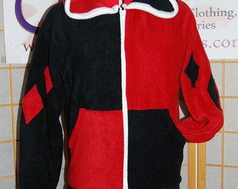 Batman - Harley Quinn Hoodie jacket cosplay costume coat handmade
