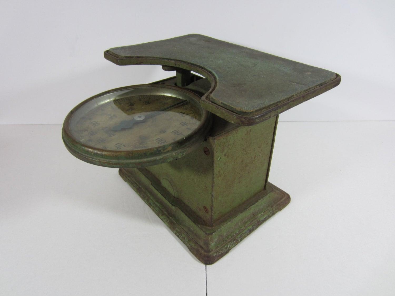 Antique Detecto Scale Patented July 10 1917 Junior