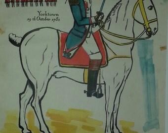 Original French travel poster 1957  Lafayette