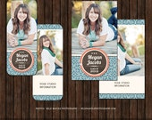 INSTANT DownloadSenior Rep Card Template, Referral Card - Millers and WHCC - R2