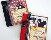 Disney Scrapbook Album Custom Order 20 pages Premade