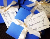Tears of Joy tissue packets for Wedding ceremony