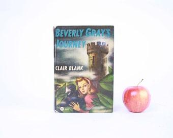 Vintage Book Kindle Cover, Nook Cover- Ereader Case- Beverly Gray's Journey
