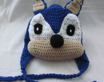 Sonic the super fast Hedge Hog hat