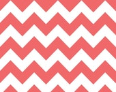 "Riley Blake Designs ""Chevron"" by Riley Blake Designs. 100% cotton, Rouge 1 Yard Cut"