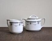 Vintage Hand Painted Ceramic Japanese Tea Set