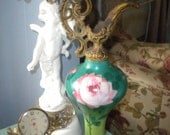 Spectacular Vintage Rose Ewer, French, French Country, Victorian, Shabby Chic