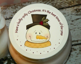Whipped Body Butter - Christmas Snowman (Holly-Jolly Christmas Gift)