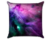 """Galaxy (4) - Photo Sofa Throw Pillow Envelope Cover for 18"""" inserts"""