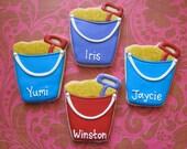 Sand Bucket Sugar Cookies - 1 Dozen