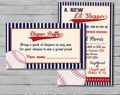 Diaper Raffle Inserts - Made to match Any Design - DIY Printable