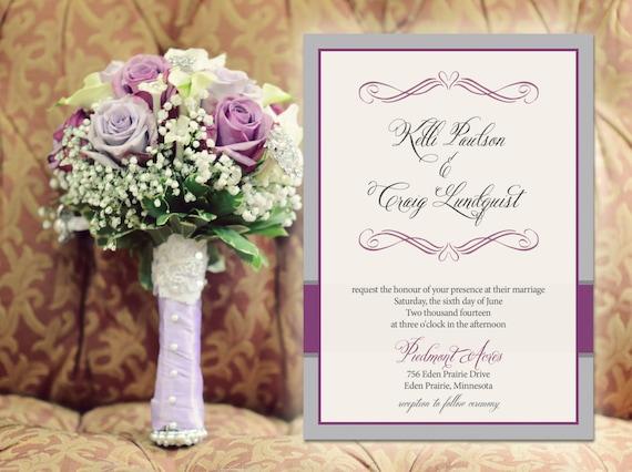 Navy And Peach Wedding Invitations: Items Similar To Sheila 100 Wedding Invitations Invites