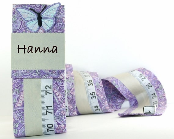 PERSONALIZED GIRL'S KEEPSAKE - Growth Chart - Purple Room Decor - Personalized Baby Shower Gift