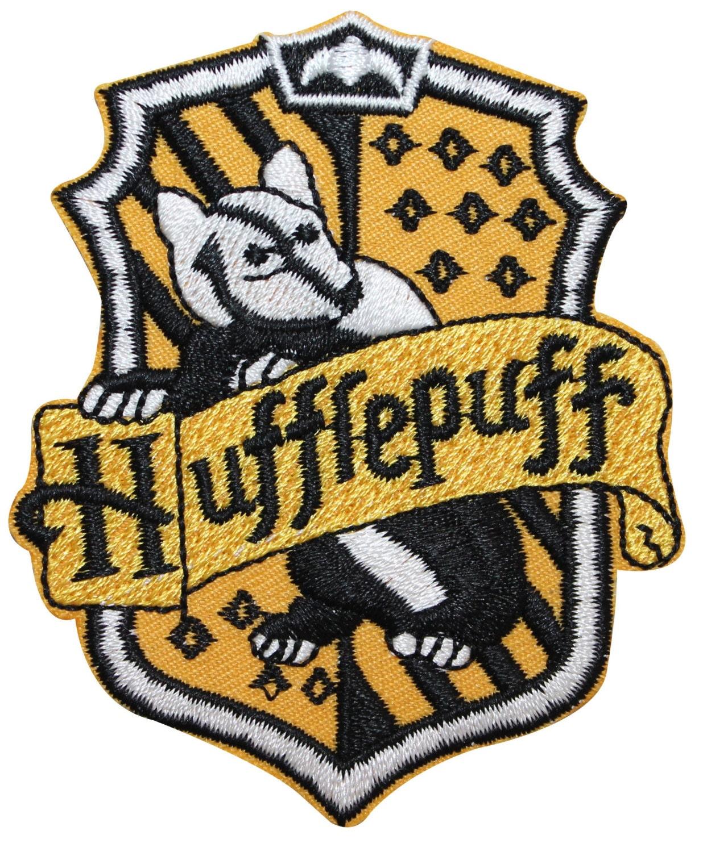 Hufflepuff Hogwarts 39 House Crest Harry Potter Embroidered